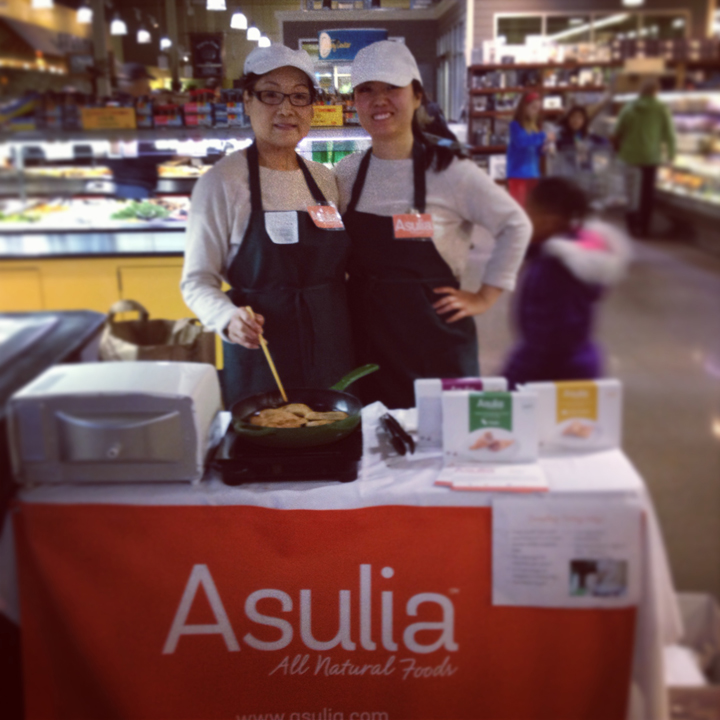 asulia blog-demoing as a whole foods vendor from dream to reality sue and mom