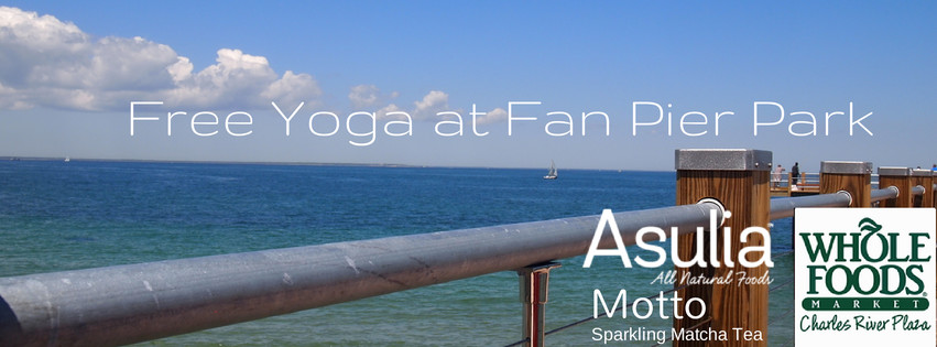 asulia blog free yoga at fan pier park